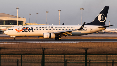 A picture of B1730 - Boeing 73789L - Shandong Airlines - © Undershrpened_DF767
