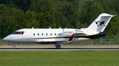 N793CT - Bombardier CL-600-2B16 Challenger 604 - Private