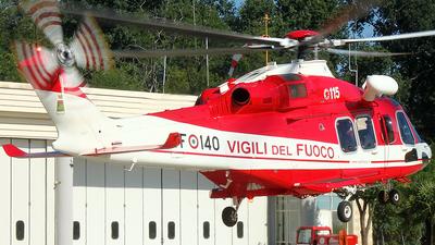 VF-140 - Agusta-Westland AW-139 - Italy - Vigili del Fuoco