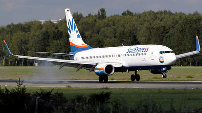D-ASXK - Boeing 737-86J - SunExpress Germany