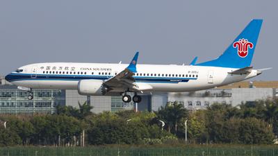 B-205J - Boeing 737-8 MAX - China Southern Airlines