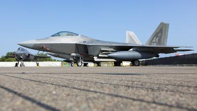 06-4115 - Lockheed Martin F-22A Raptor - United States - US Air Force (USAF)