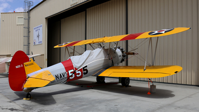 N63555 - Boeing N2S-3 Stearman - Private