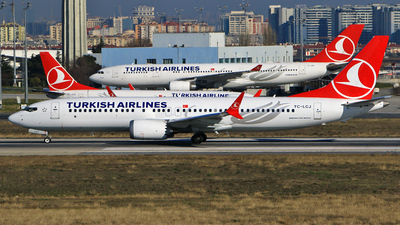A picture of TCLCJ - Boeing 737 MAX 8 - Turkish Airlines - © Ahmet Akin Diler