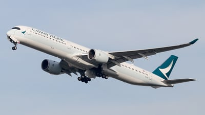 B-LXA - Airbus A350-1041 - Cathay Pacific Airways