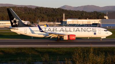 A picture of LNRRE - Boeing 73785P - SAS - © Richard Toft