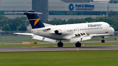 VH-QQR - Fokker 70 - Alliance Airlines