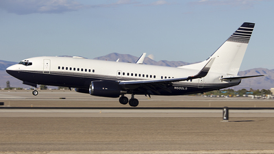 N500LS - Boeing 737-73T(BBJ) - Private