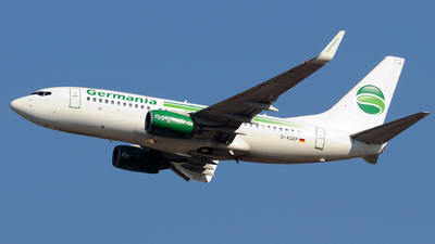 D-AGEP - Boeing 737-75B - Germania