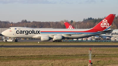 LX-VCN - Boeing 747-8R7F - Cargolux Airlines International