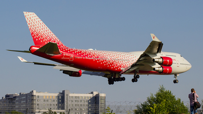 EI-XLJ - Boeing 747-446 - Rossiya Airlines