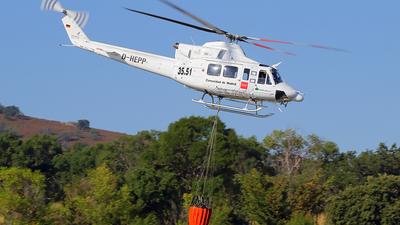 D-HEPP - Bell 412SP - Pegasus Aviación