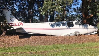N1022W - Cessna 340A - Private