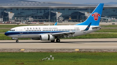 B-5283 - Boeing 737-71B - China Southern Airlines