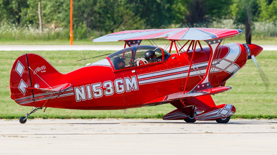 N153GM - Aviat S-2B Pitts Special - Private