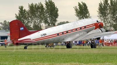 A picture of LVBEH - Douglas C47D Skytrain - [15349] - © Jose Luis Ghezzi