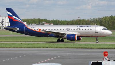 A picture of VQBHN - Airbus A320214 - Aeroflot - ©  koba emukhvari