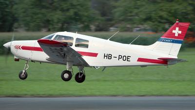 HB-POE - Piper PA-28-161 Cadet - Motorfluggruppe Fricktal