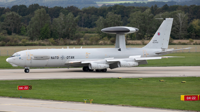 LX-N90443 - Boeing E-3A Sentry - NATO - Airborne Early Warning Force