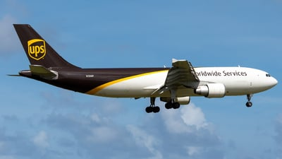 N154UP - Airbus A300F4-622R - United Parcel Service (UPS)