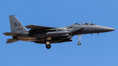 87-0193 - Boeing F-15E Strike Eagle - United States - US Air Force (USAF)