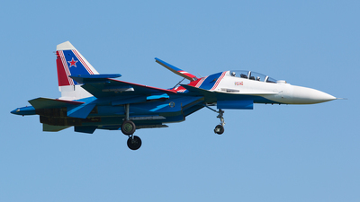 RF-81702 - Sukhoi Su-30SM - Russia - Air Force