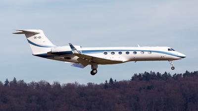 OE-IZI - Gulfstream G550 - Tyrolean Jet Services