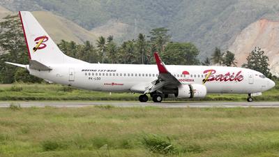 PK-LDO - Boeing 737-8GP - Batik Air