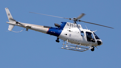 N3934A - Eurocopter AS 350B3 Ecureuil - United States - US Customs Service