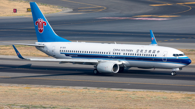 A picture of B7971 - Boeing 73781B - China Southern Airlines - © UNNAMED