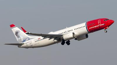 A picture of SERRT - Boeing 7378JP - Norwegian - © Peter Tolnai