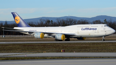 D-ABYC - Boeing 747-830 - Lufthansa