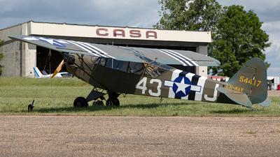 LN-MAV - Piper J-3C-65 Cub - Private