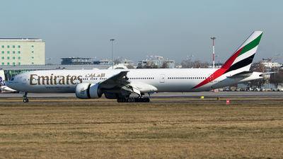 A picture of A6EQF - Boeing 77731H(ER) - Emirates - © RAFAL KUKOWSKI