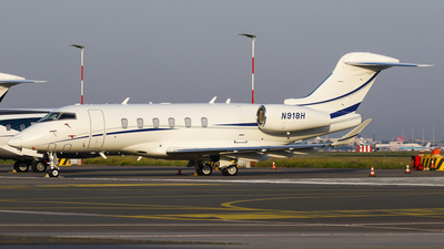 N918H - Bombardier BD-100-1A10 Challenger 350 - Private