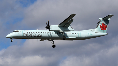C-GBJZ - Bombardier Dash 8-Q402 - Air Canada Express (Jazz Aviation)