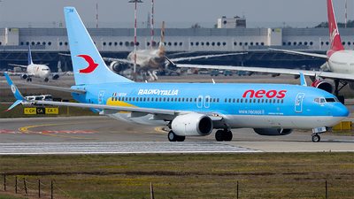 A picture of INEOW - Boeing 73786N - Neos - © Arianna Iori