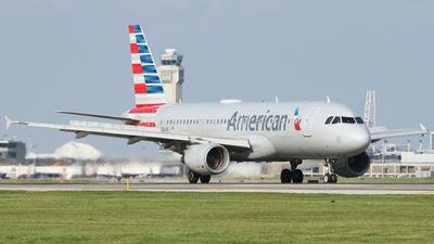 N128UW - Airbus A320-214 - American Airlines