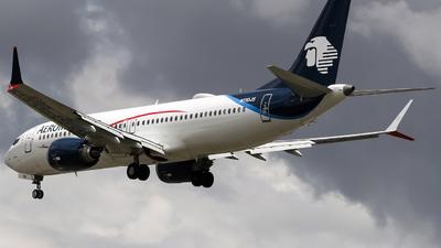 N110JS - Boeing 737-8 MAX - Aeromexico