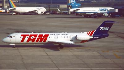 PT-MRL - Fokker 100 - TAM Linhas Aéreas