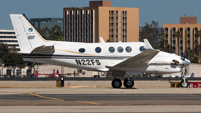 A picture of N22FS - Beech C90A King Air - [LJ1452] - © Tyler J