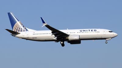 N37281 - Boeing 737-824 - United Airlines