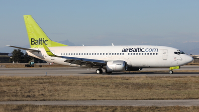 YL-BBY - Boeing 737-36Q - Air Baltic