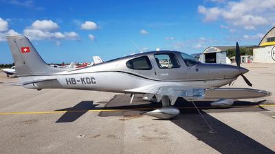 HB-KGC - Cirrus SR22T-GTS G6 Platinum - Private