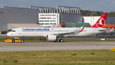 D-AYAY - Airbus A321-271NX - Turkish Airlines