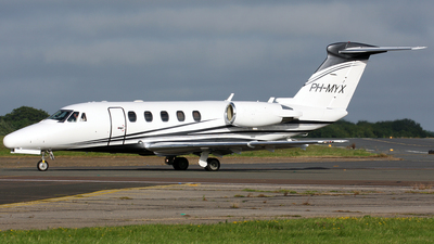 PH-MYX - Cessna 650 Citation VII - Private