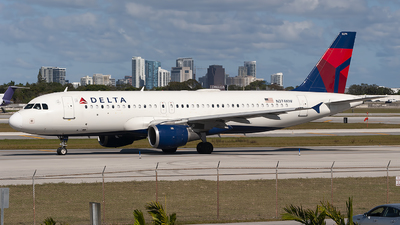 A picture of N374NW - Airbus A320212 - Delta Air Lines - © Mark Lawrence
