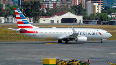 A picture of N814NN - Boeing 737823 - American Airlines - © David Mendoza