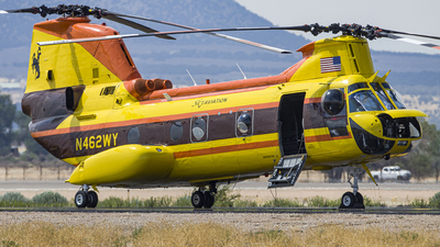 N462WY - Boeing Vertol CH-46E Sea Knight - Sky Aviation Helicopter Services