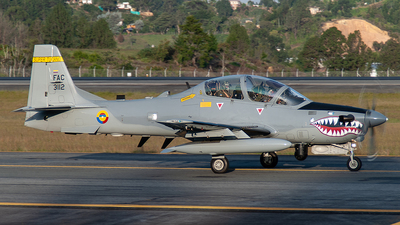 FAC3112 - Embraer A-29B Super Tucano - Colombia - Air Force